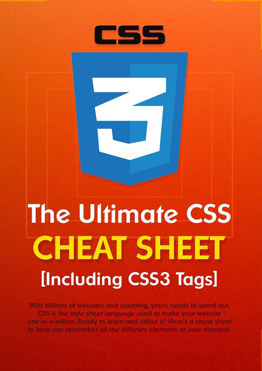 Comprehensive css cheat sheet css cheat sheet cheat