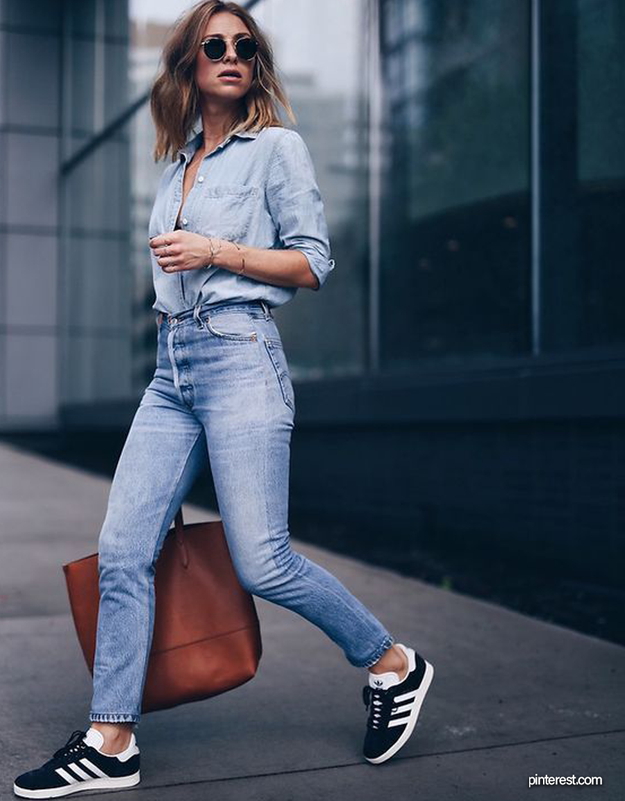 aislamiento curso Intrusión  15 Best Adidas Shoes Women Can Wear With Jeans - HelloThalita - #fashion  #streetstyle #streetwear #adidas #women… | Womens casual outfits, Shoes  with jeans, Fashion