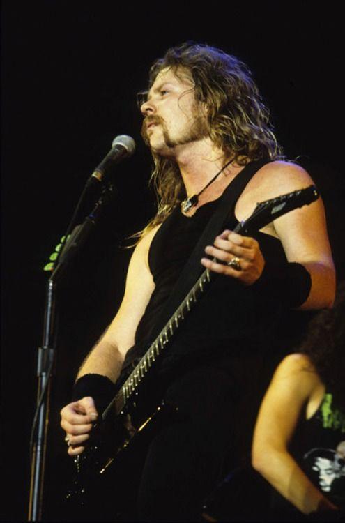 James Hetfield Early 90s Metallica James Hetfield Metallica Heavy Metal Music