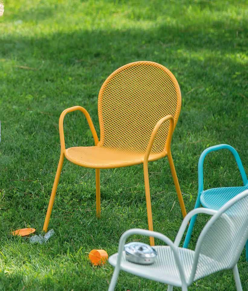 Moderner Gartenstuhl für Kinder BABY RONDA by Aldo