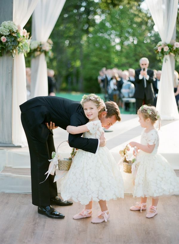 Cute little flower girls xx Alex and Brian Chicago Wedding
