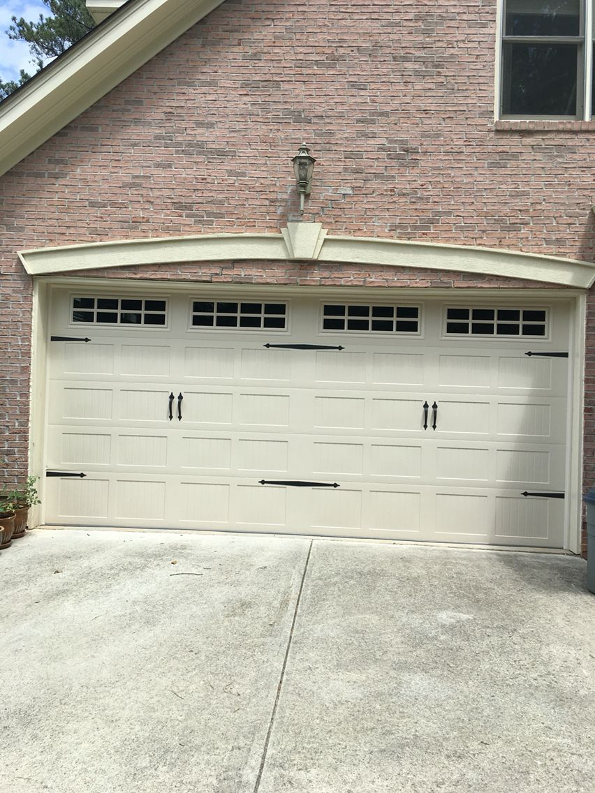 Installed This Carriage Stamp Garage Door From Chi In Dunwoody Ga