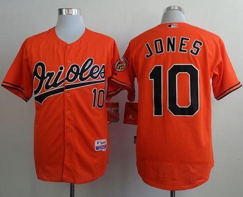 brand new 7808c 57f76 Orioles #10 Adam Jones Orange Cool Base Stitched MLB Jersey ...