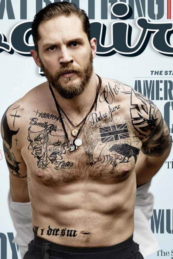 tattoos Tom hardy