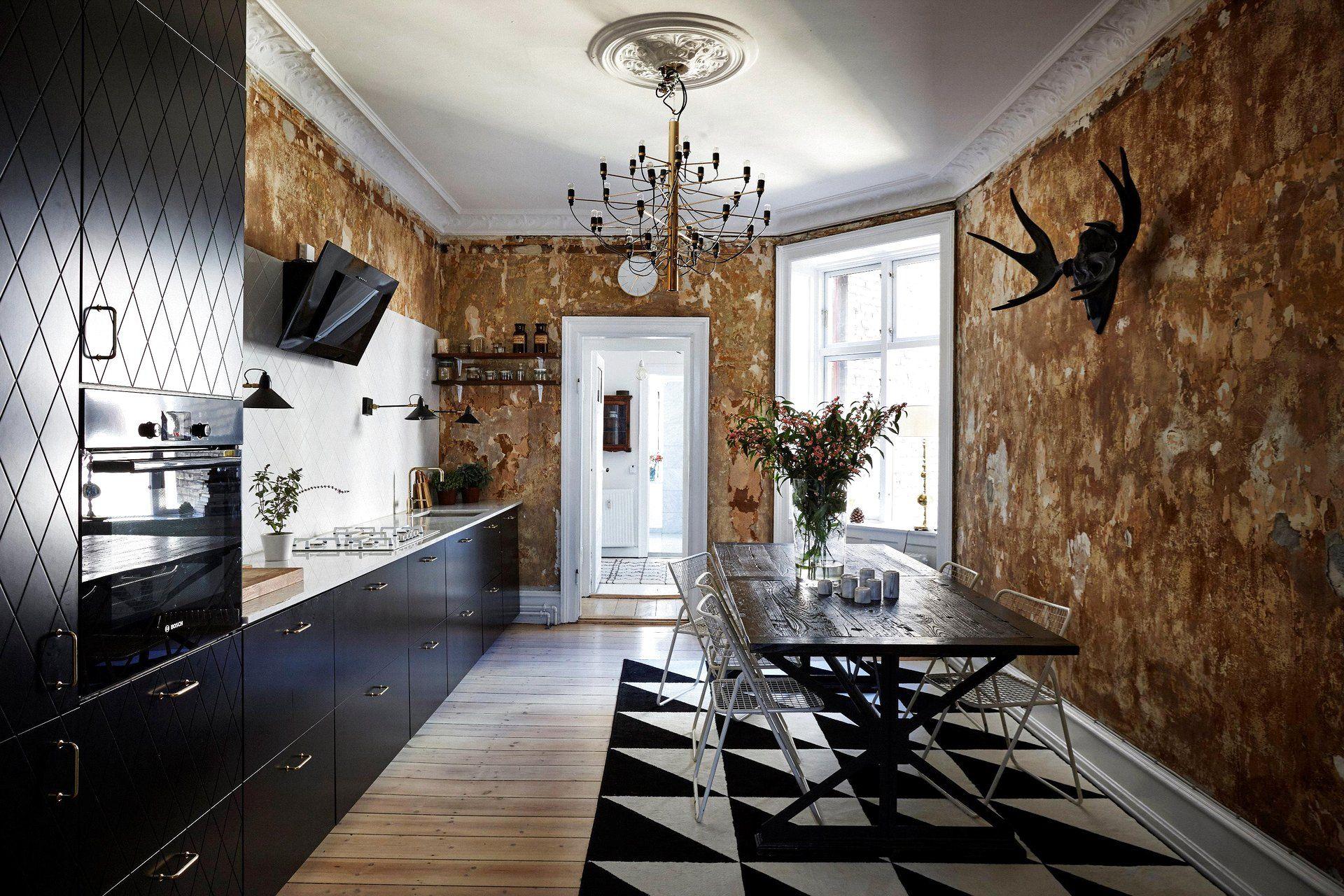 A Copenhagen Home With A Parisian Vibe Kitchen decor