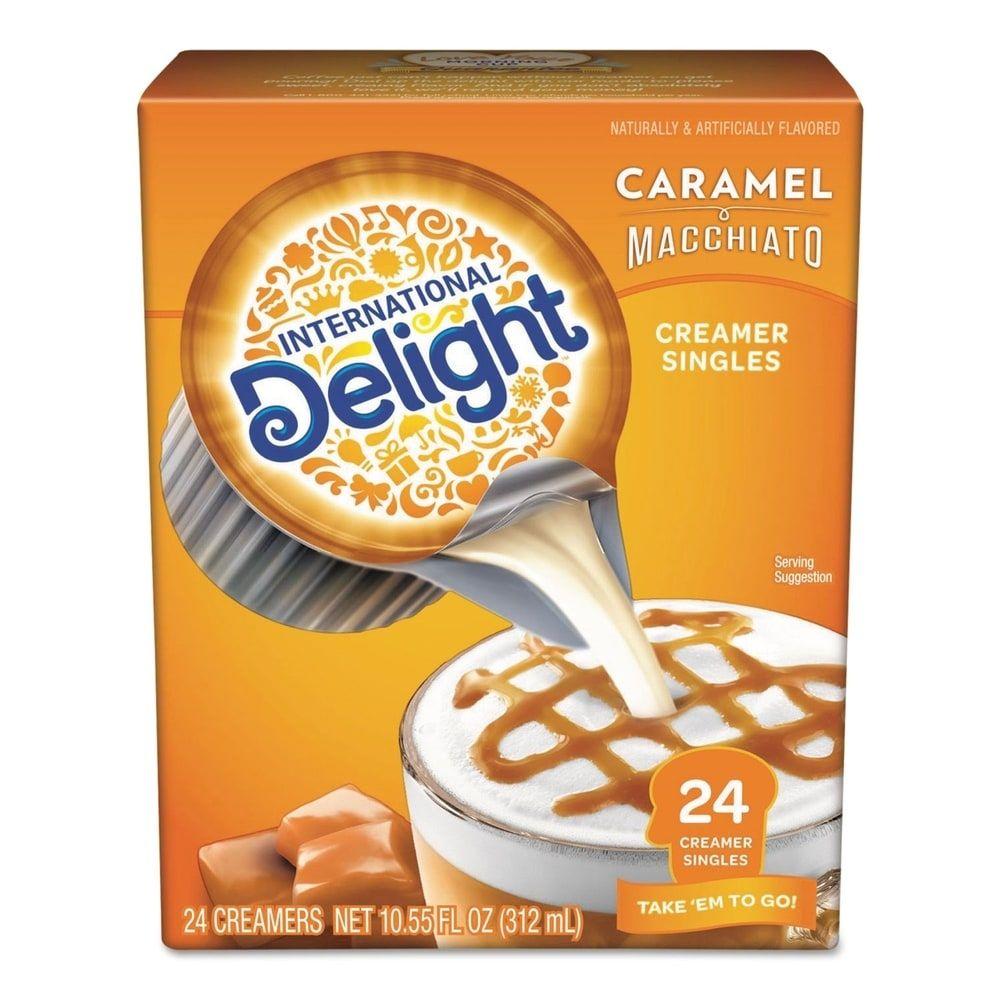 Flavored Liquid NonDairy Coffee Creamer, Caramel