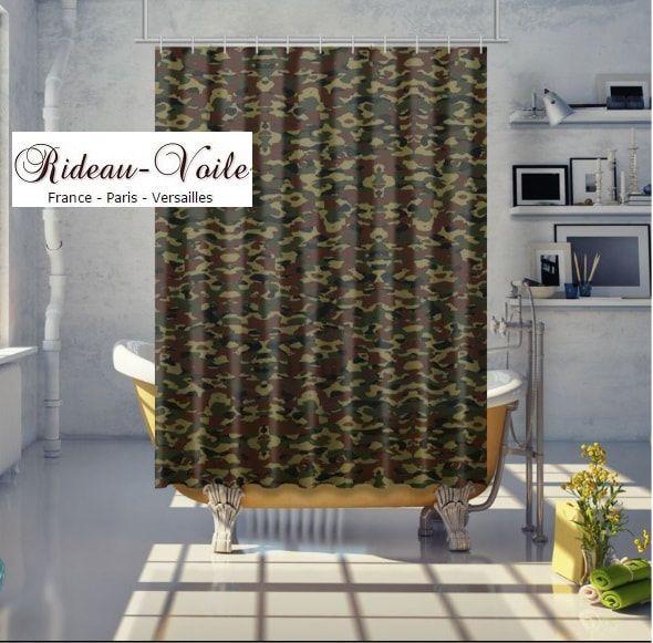 couette duvet coussin housse sur mesure tissu camouflage ...