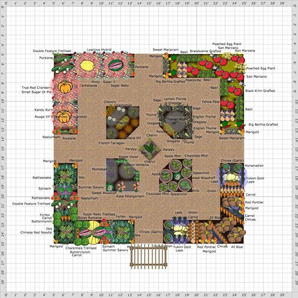 Garden plan | Gardening/Preserving | Pinterest | Garden planning ...