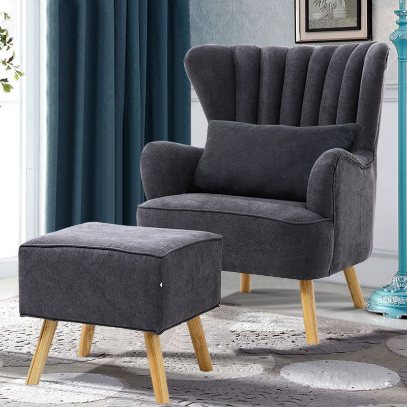 Peachy Bedroom Sofa Wing Back Fireside Fabric Lounge Armchair Tub Pabps2019 Chair Design Images Pabps2019Com
