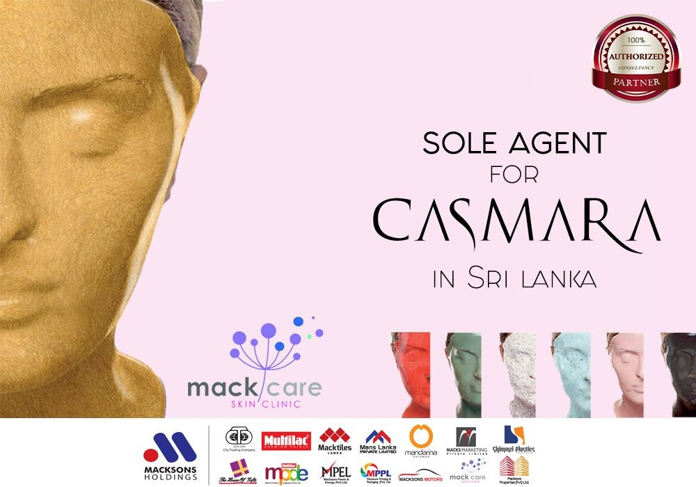Mackcare Is The Sole Agent For Casmara In Srilanka Casmara Mackcare Srilanka Skin Clinic Skin Care Skin