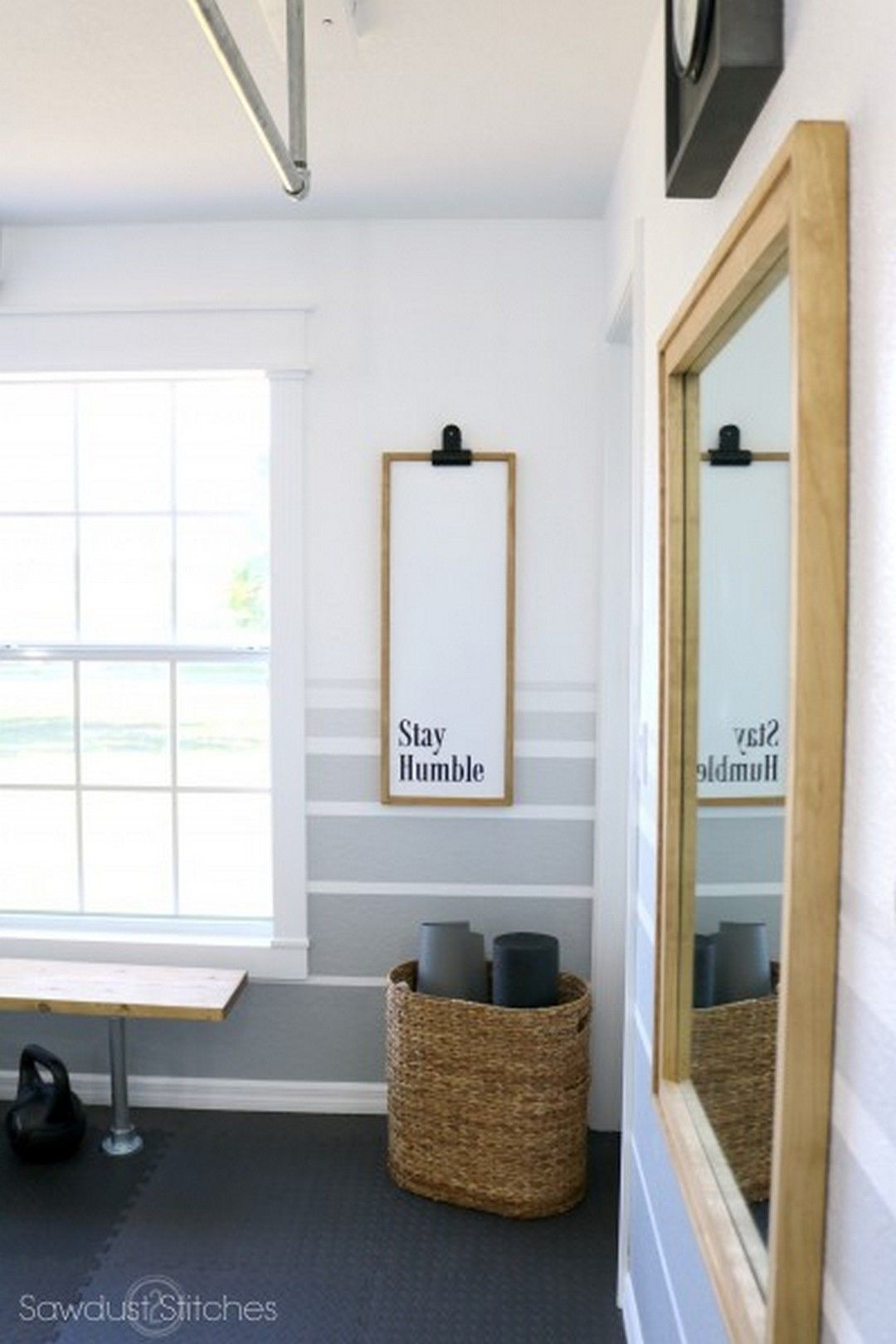 Small Space Home Gym Decorating Ideas (16 | Small spaces, Spaces and ...