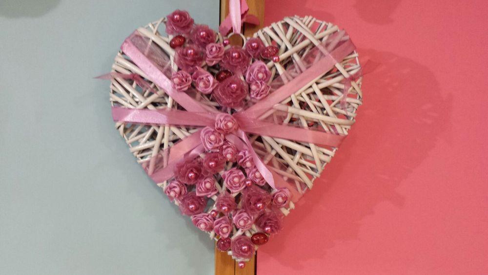 regali a forma di cuore fatti a mano