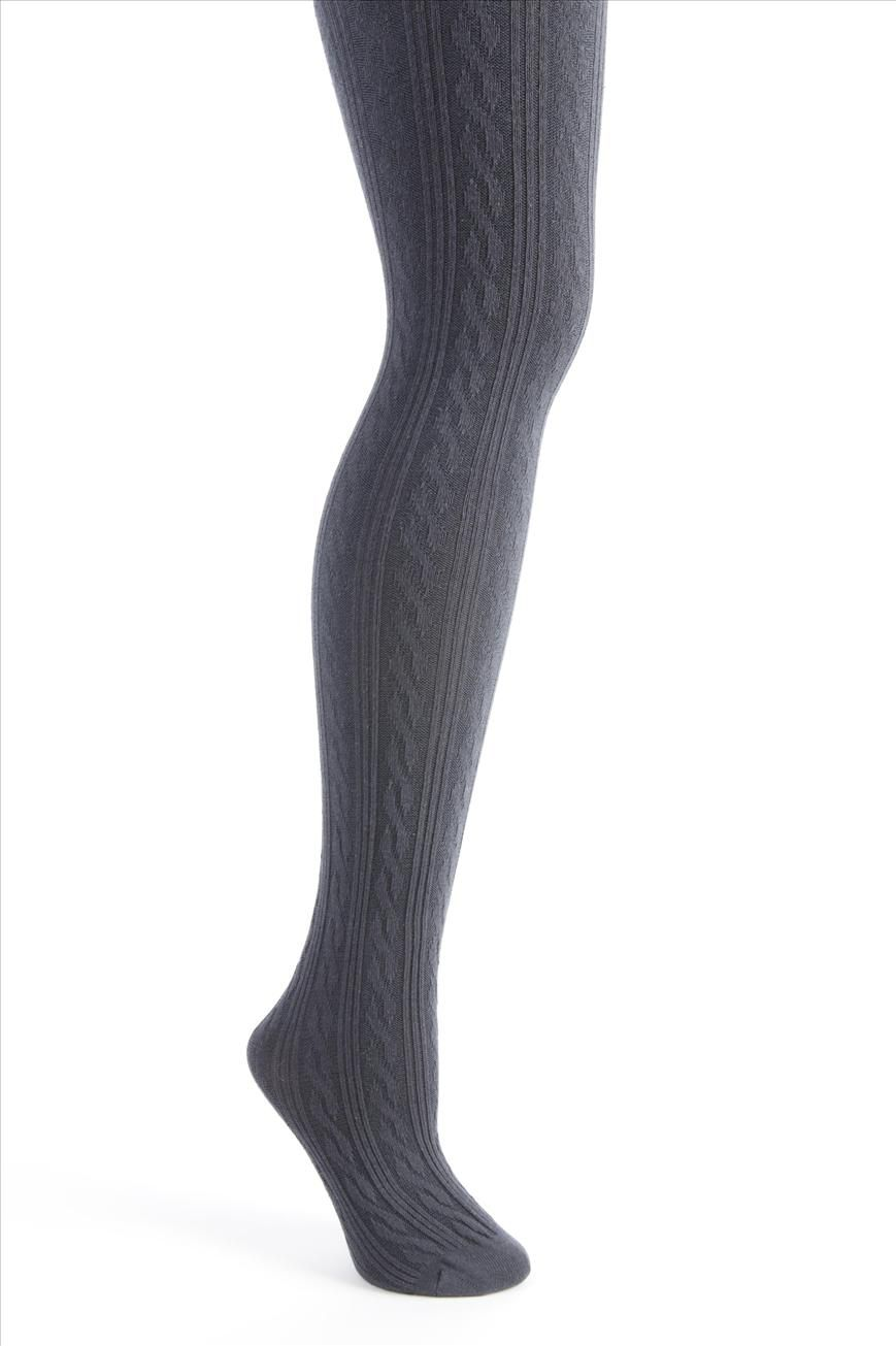 cable knit tights | Cotton On