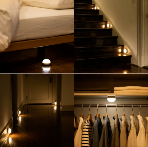 New Muji Led Light Motion Sensor Cupboard Closet Stairs Magnet