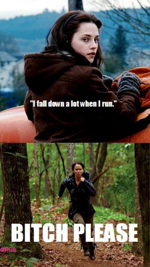 Ha. Go Katniss.