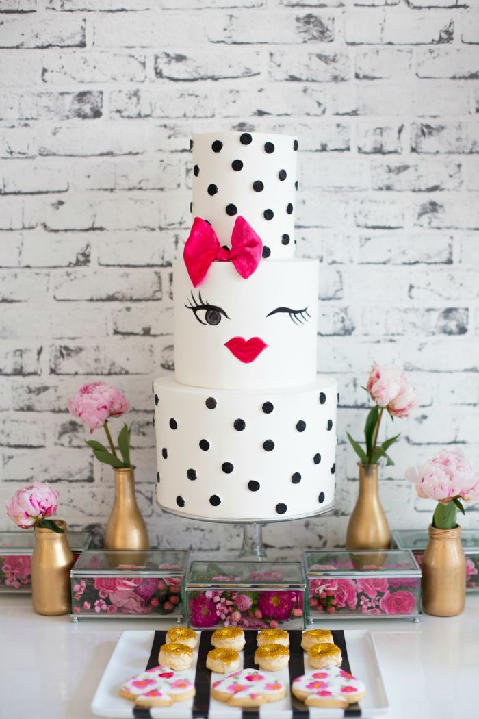 Throw A Kate Spade Inspired Bridal Shower of Bachelorette Party