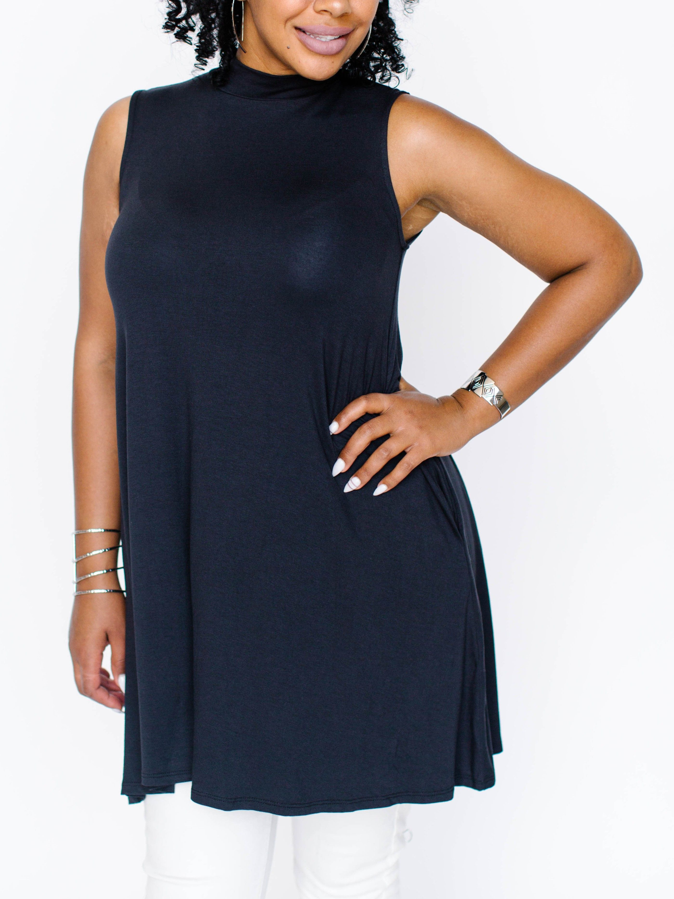 784fbd34d83d8 Newest version of the Agnes & Dora Swing Tunic ... Presenting the Mock  Swing Tank! Must Have! www.shopkarenm.com