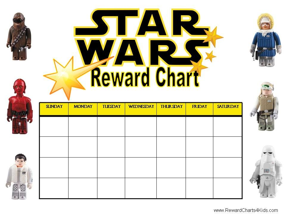 Children S Calendar With Stickers : Printable sticker reward charts chart