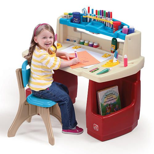 Step2 Deluxe Art Master Desk With Chair Step2 Toys R Us