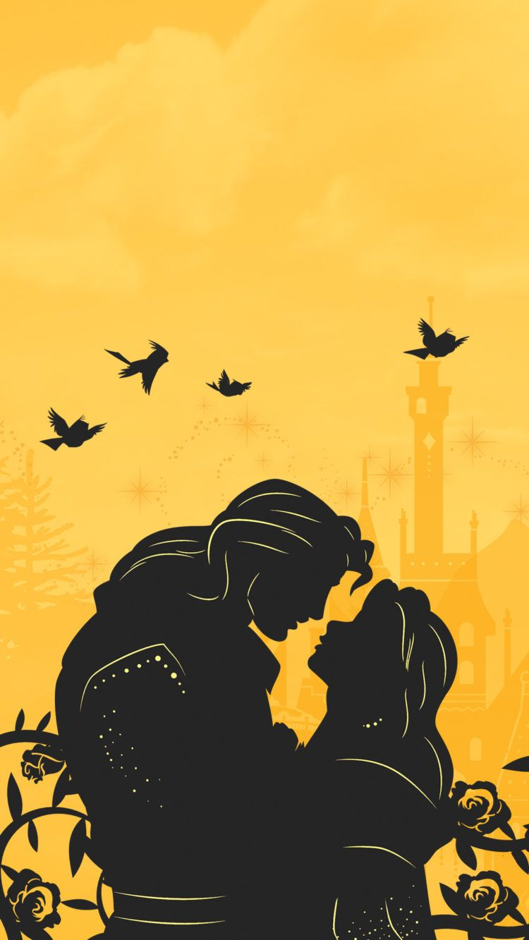 These Papercut Inspired Disney Princess Phone Wallpapers Are So