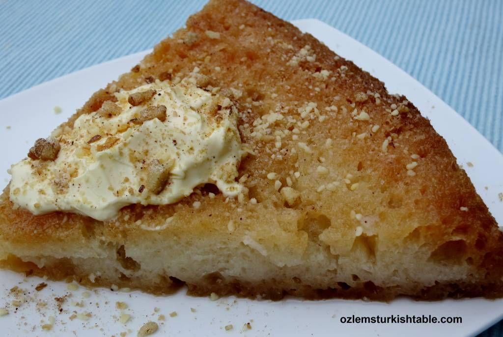 Ekmek Kadayifi; Turkish bread pudding soaked in syrup
