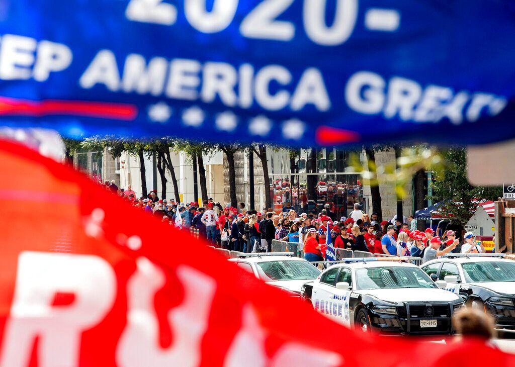 FOX NEWS Trump headlines Dallas rally as scrutiny over