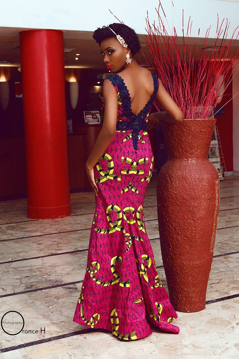 AfricaineTenue TogoTenues Pagne Wallace Robe Grace pqUSzMV