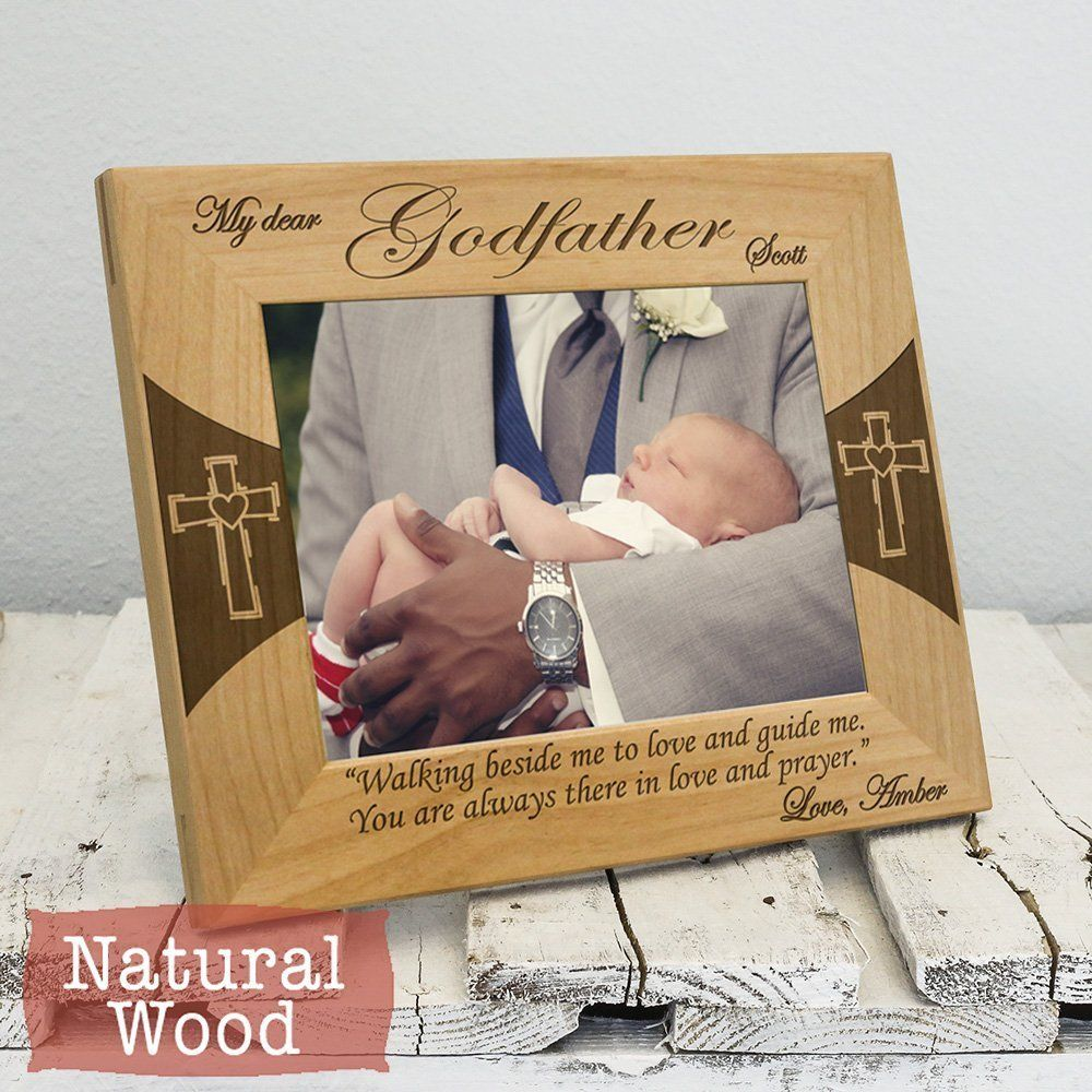 Godfather Frame - Personalized Godfather Gifts - Godfather Picture ...