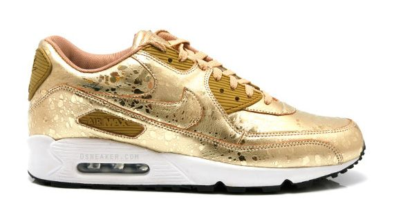 separation shoes 7fb9a 839be gold foil. gold foil Nike High, Air Max ...