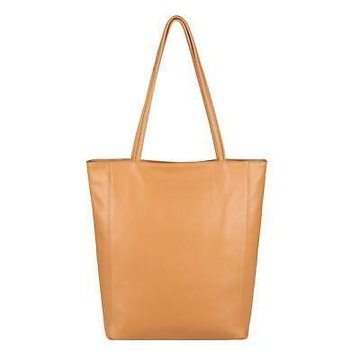 Photo of ITAL LADIES LEATHER BAG Shopper shoulder bag handle bag Din-A4 handbag: E …