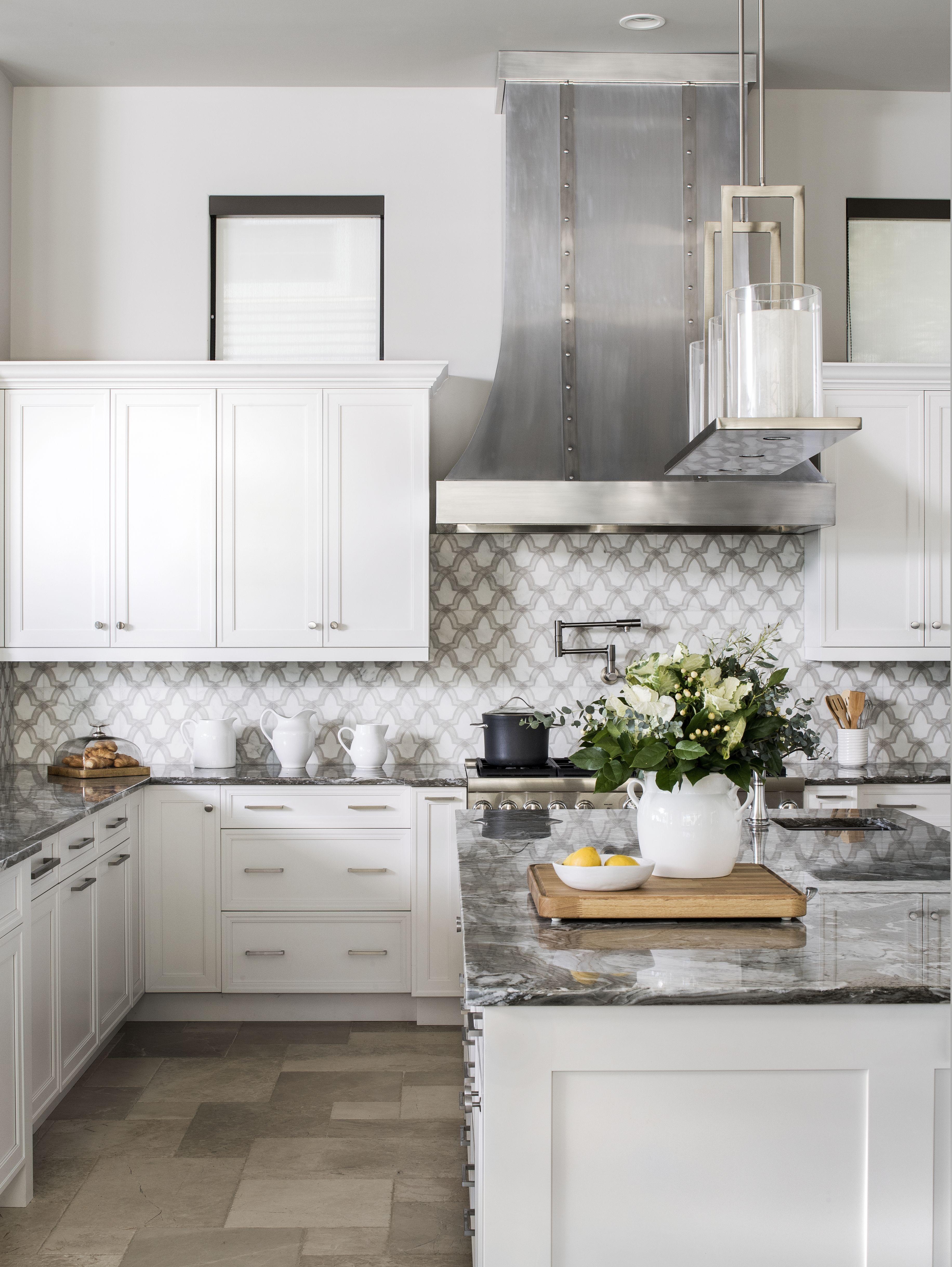 Hart Branch Spanish Colonial Kitchen By Brianna Michelle Design Artisan Stone Tile Stone Tiles Kitchen Kitchen