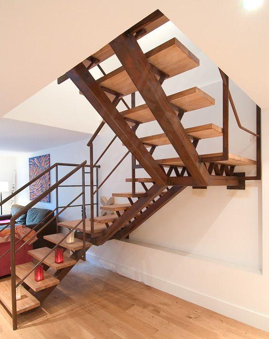 Escalier 2 4 Tournant Escaliers Decors Escalier Contemporain