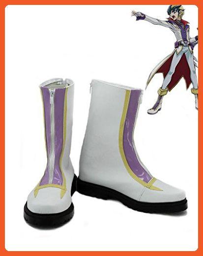 Yu-Gi-Oh! ZEXAL Tenjou Kaito Cosplay Shoes Boots Custom Made