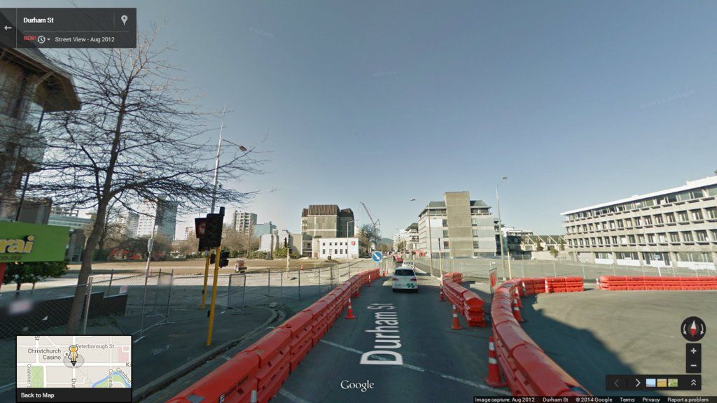 Christchurch Before And After Streetview Christchurch New