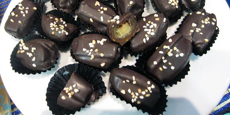 Oat Walnut Kurma Cookies Kue Lezat Kukis Coklat Kue Kering