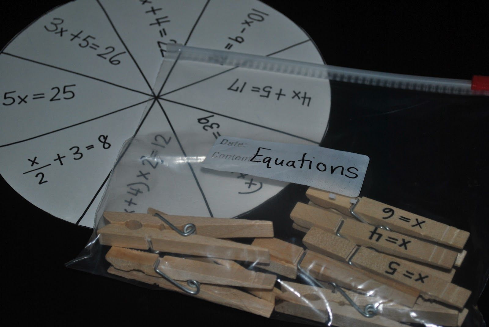 Great Equation Activity