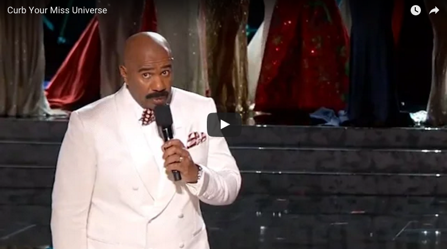 Steve Harvey Mash-up with Curb Your Enthusiasm Is Hilarious