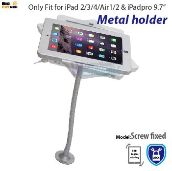 Tablet Pc 360 Wall Mount Desktop Counter Brace Specialized Frame Box Housing Lock Holder Stand For Ipad 2 3 4 Air Ipad Stand Box Houses Tablet Accessories