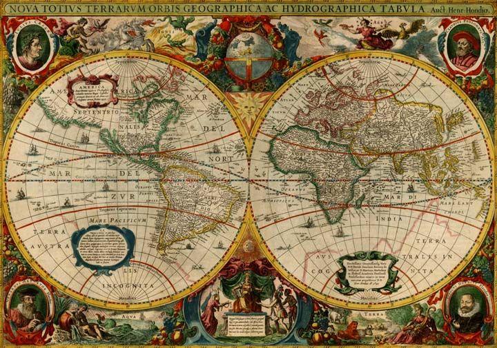 Welp Nova Totius Terrarum Orbis Geographica Hydrographica Tabula by FY-39