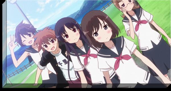 Saki Episode of Side A Anime Canvas Anime canvas, Anime