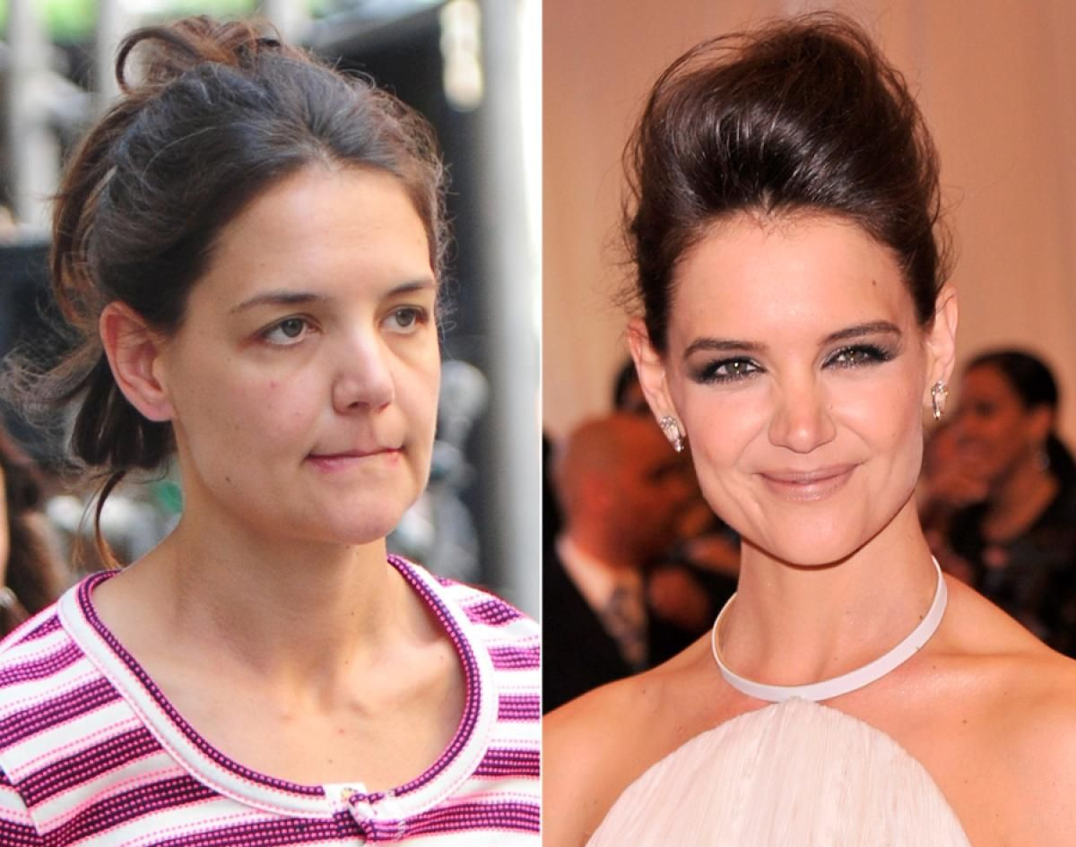 Katie Holmes Stars Caught Without Makeup Celebs Without Makeup Actress Without Makeup Without Makeup
