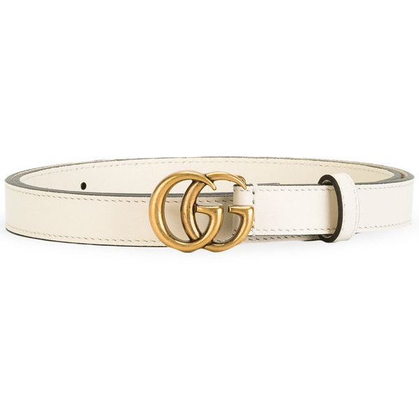 63965d5ea Gucci Double G Buckle Belt ($330) ❤ liked on Polyvore featuring  accessories, belts, access, buckle belt, logo belts, gucci belt, leather  buckle belt and ...