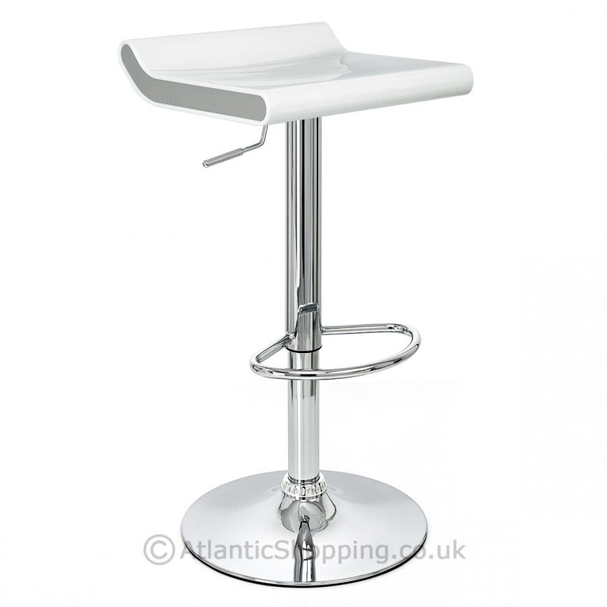 Flo Bar Stool White Amp Silver Remember These Things