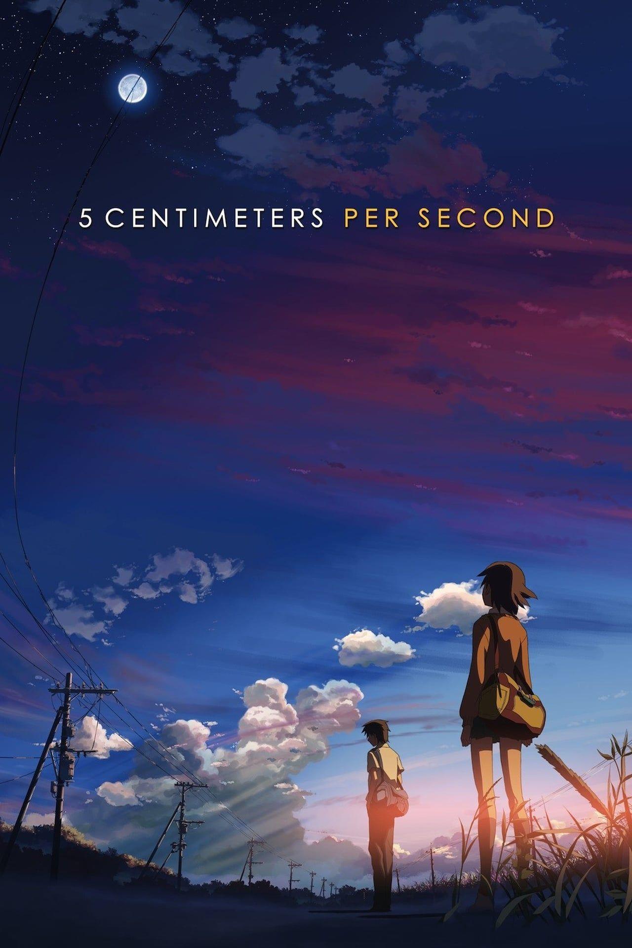 28 5 Centimeters Per Second Anime Films Anime Movies Japanese