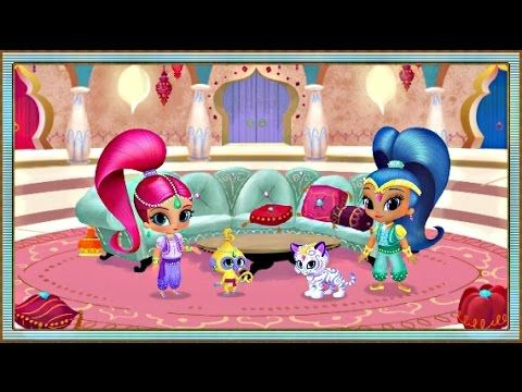 Shimmer and Shine: Genie Palace Divine - Nick Jr Game For Kids ...