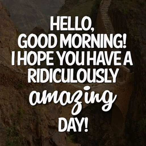 Good Morning Quotes For Facebook Status inspirational happy good morning love you honey meme - happy