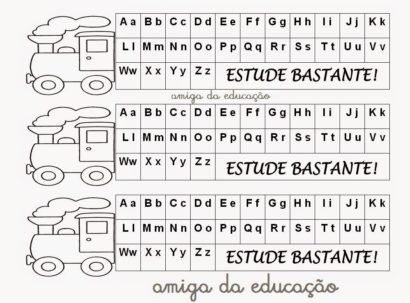 Moldes Letras Do Alfabeto Maiusculas E Minusculas Com Imagens