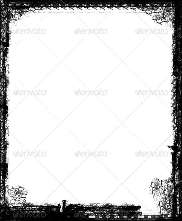 Grunge retro style frame for your projects abstract, \u2026 N1 - black border background