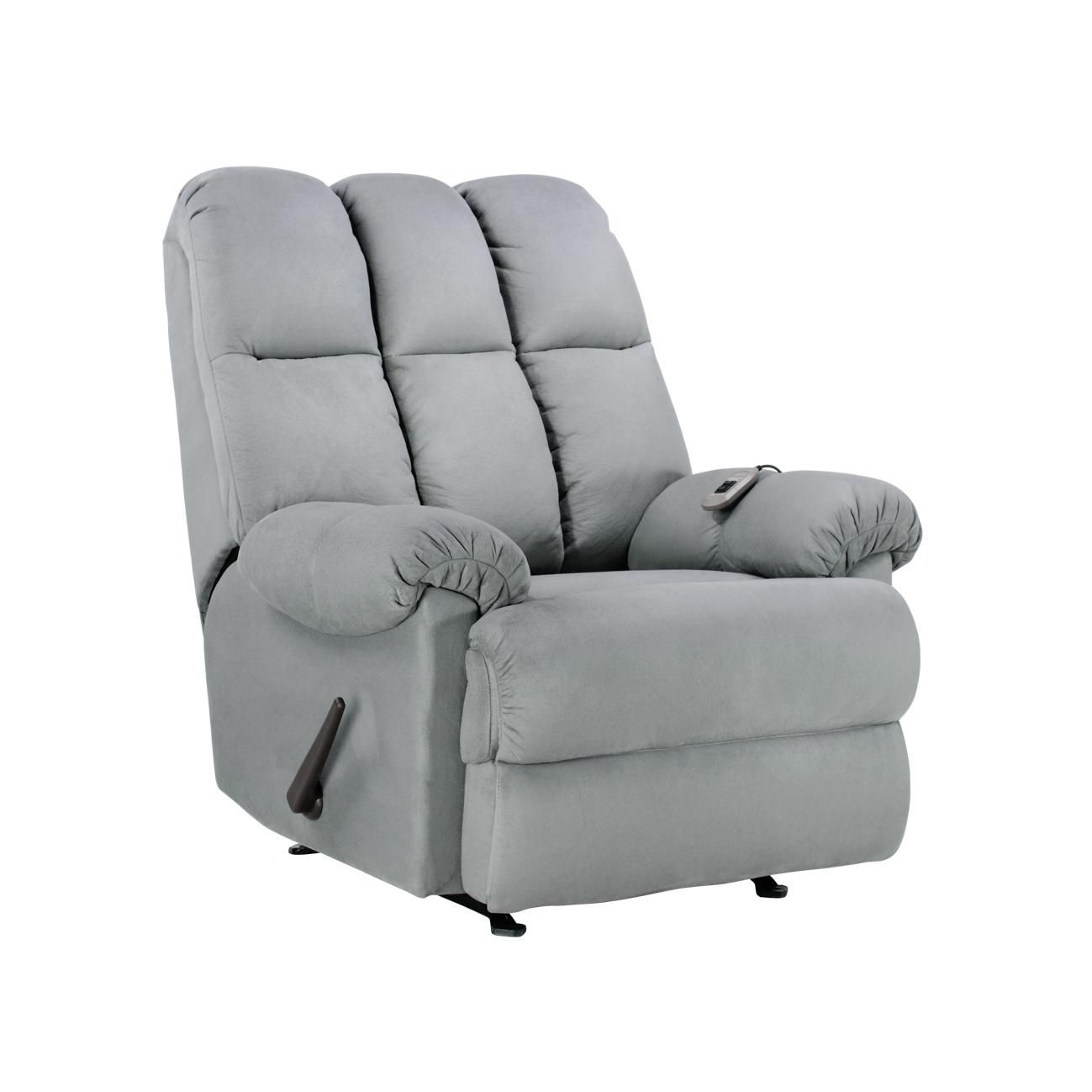 Stupendous Dorel Asia Padded Massage Recliner Grey Dorelsummerfun Cjindustries Chair Design For Home Cjindustriesco