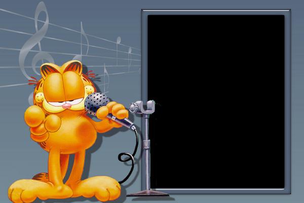 Garfield Transparen Png Frame Marcos Para Fotos Fotos En Disney Hojas Para Imprimir